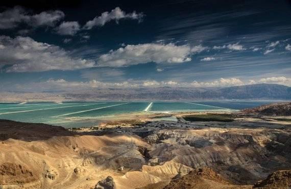 תמונה במדבר - נוף ים המלח